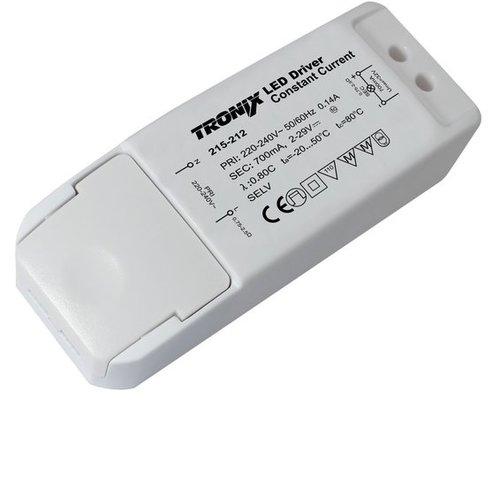 Tronix LED Driver | 700mA | 20 Watt | niet dimbaar (2 jaar garantie)