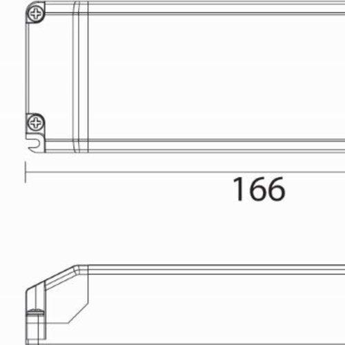 Tronix LED Driver | 700mA | 40 Watt | Triac dimbaar (2 jaar garantie)
