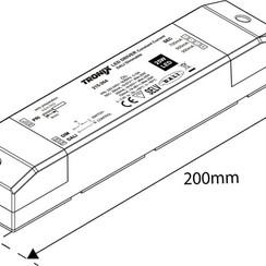 LED Driver   350/500/700mA   25 Watt   Dali Dimbaar (2 jaar garantie)