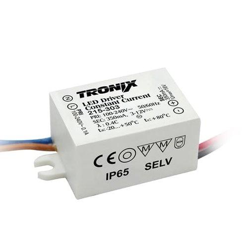 Tronix LED Driver Mini | 700mA | 4 Watt | Dimbaar | Buiten (2 jaar garantie)