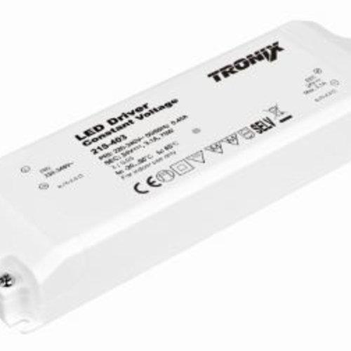 Tronix LED Voeding | 24V | 75W | Block type binnen (2 jaar garantie)