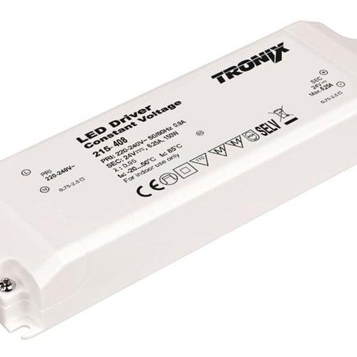 Tronix LED Voeding | 24V | 150W | Block type binnen (2 jaar garantie)