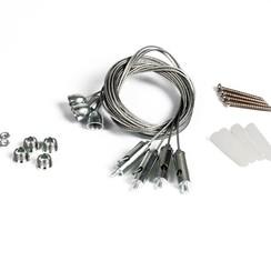 Hangende Opbouwset voor LED Paneel UGR<16 (2 jaar garantie)