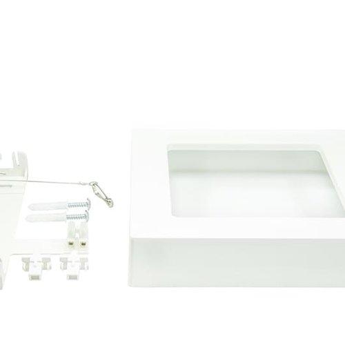Tronix Opbouwkit Vierkante LED Downlight | 12W ECO | 2 Jaar Garantie