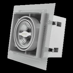 Trimless Inbouwspot | Wit | AR70 | GU10 inclusief | 2 Jaar Garantie