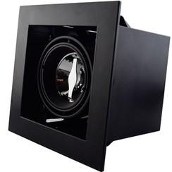 Trimless Inbouwspot | 50mm | Zwart | GU10 & MR16 Fitting Inclusief