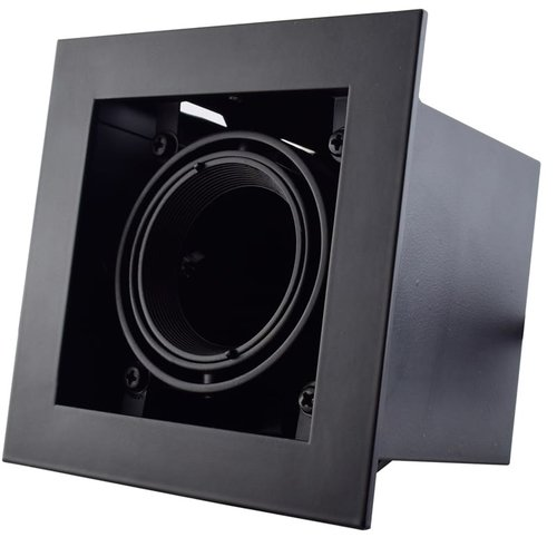 Tronix Trimless Inbouwspot | 50mm | Zwart | GU10 & MR16 Fitting Inclusief