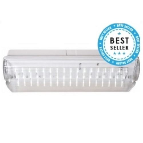 LED Noodverlichting  Opbouw (met testknop) 250 Lumen