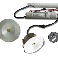 LED Mini Nood Inbouwspot | 3 uur  Emergency Mode