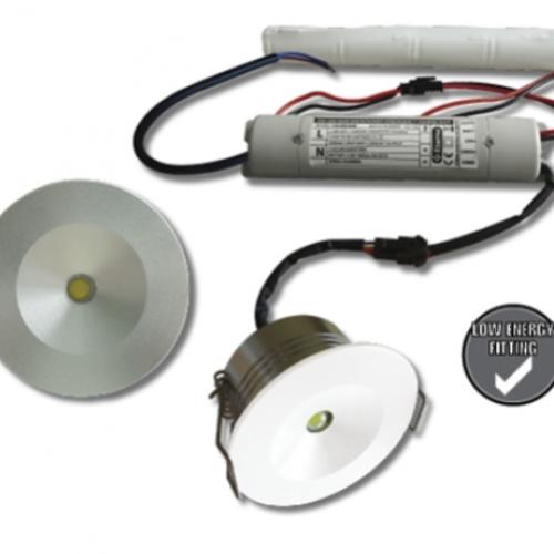 LED Mini Nood Inbouwspot | 3uur  Emergency Mode