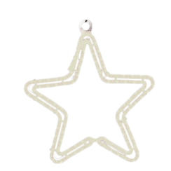 Motifs | 5 point star 80cm | White LED