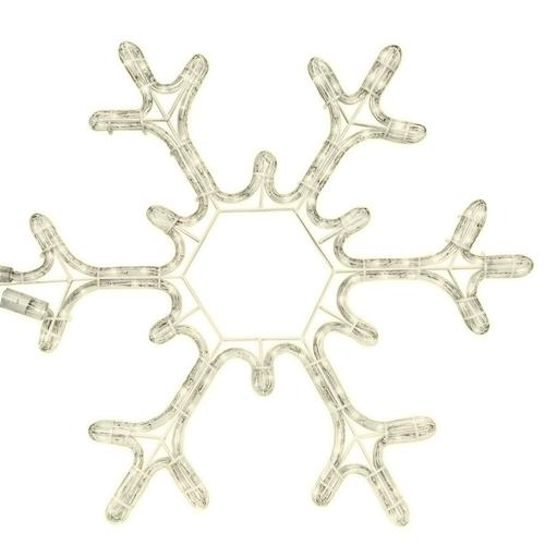 Tronix Motifs   Snowflake 53cm   White LED