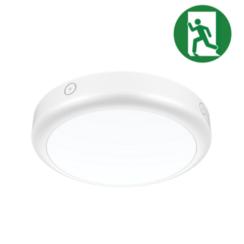 Noodverlichting Plafondlamp | Ø300mm | 15W | IP65 | Drie kleuren wit