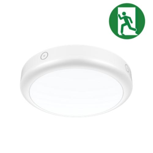 Tronix Noodverlichting Plafondlamp | Ø300mm | 15W | IP65 | Drie kleuren wit