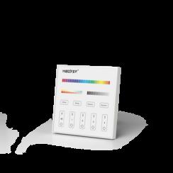 Mi-light T4 | 4-Zone Paneel Wandbediening RGB+CCT | 2 Jaar Garantie
