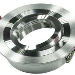 Armatuur rond aluminium kantelbaar IP20