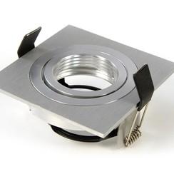 Armatuur vierkant aluminium kantelbaar IP20