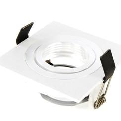 Armatuur vierkant wit kantelbaar IP20