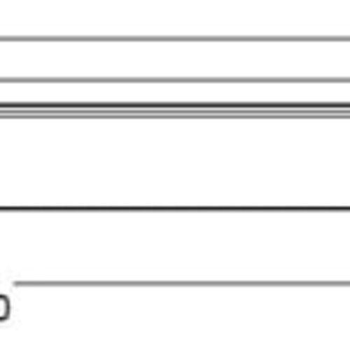 Tronix LED T5 | Surface Mount | 60cm | 8W | Tri-White