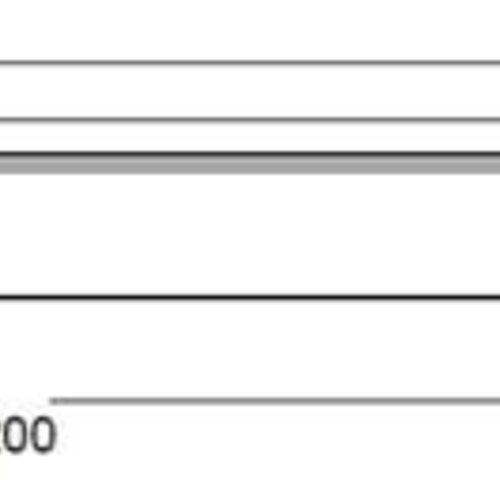 Tronix LED T5 | Surface Mount | 120cm | 18W | Tri-White