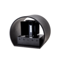Tronix Wall Lamp   136x115x100mm   Black   6W   Dim.