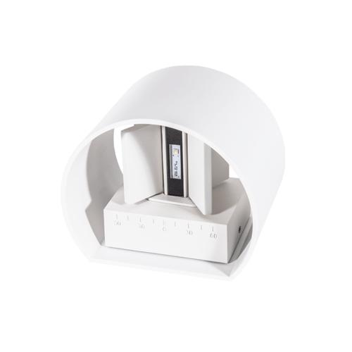 Tronix Wall Lamp | 136x115x100mm | White | 6W | Dim.
