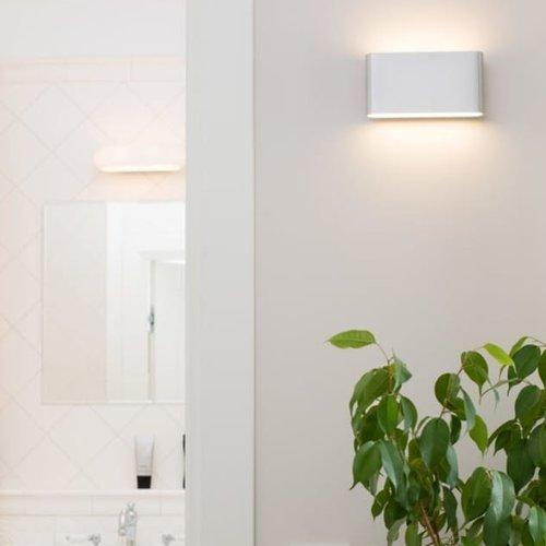 Tronix Dimbare Wand Lamp   up & down 175x90mm   Zwart   12,9W   2700K