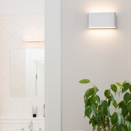 Tronix Dimbare Wand Lamp | up & down 175x90mm | Wit | 12,9W | 2700K
