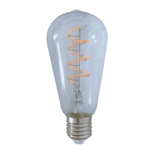 LVS led lighting LED FILAMENT E27 4W 2200K EDISON DIMBAAR CLEAR