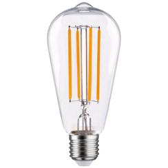 LED FILAMENT E27 6.5W 2100K EDISON DIMBAAR
