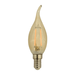 LED FILAMENT E14 1.8W 2200K KAARS AMBER