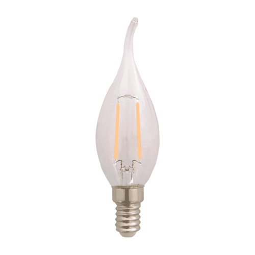 LVS led lighting LED FILAMENT E14 1,8W 2200K KAARS CLEAR