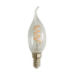 LED FILAMENT E14 4W 2200 K KAARS TIP DIMBAAR CLEAR