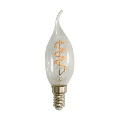 LVS led lighting LED FILAMENT E14 4W 2200 K KAARS TIP DIMBAAR CLEAR