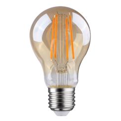 LED FILAMENT E27 6.5W 2700K PEER DIMBAAR AMBER GLAS