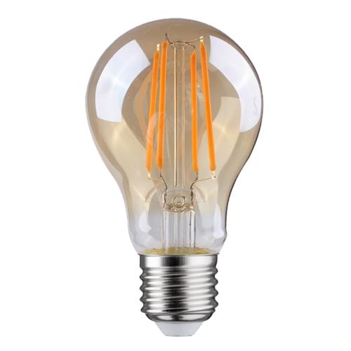 LVS led lighting LED FILAMENT E27 6.5W 2700K PEER DIMBAAR AMBER GLAS