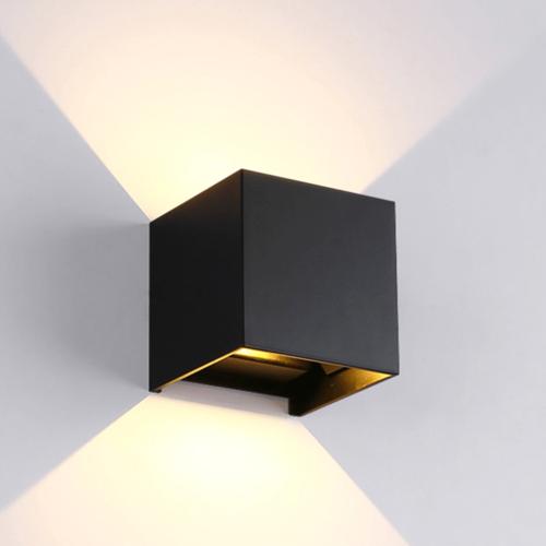 LVS led lighting LED CUBE 2x3W DIM ZWART
