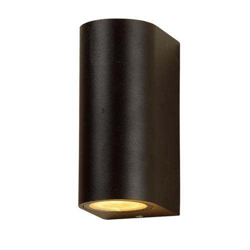 LVS led lighting WANDARMATUUR ARCHE 2xGU10 FITTING ZWART