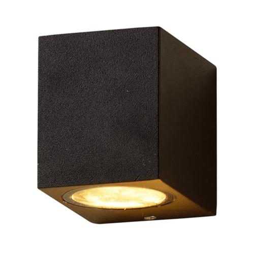 LVS led lighting WANDARMATUUR HION 1xGU10 FITTING ZWART