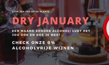 Dry January een alcoholvrije maand