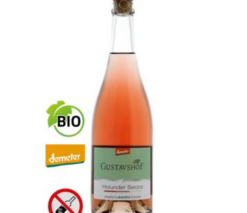 Weingut Gustavshof Holunder Secco alcohol vrij