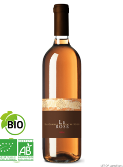 La Grange de Quatre Sous Rose wijn-Grange de Quatre sous