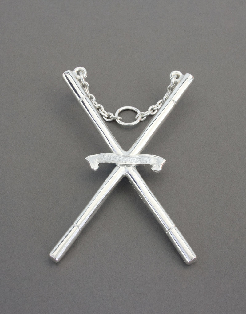 Craft Officers Collar Jewel | Silver
