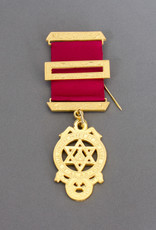 Royal Arch Principals Breast Jewel   Gold