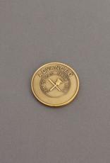 Advanced Son Of Man Mark Well Masonic Bronze Coin