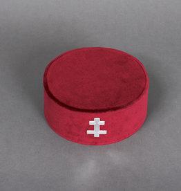 Knights Templar Preceptors Cap | Velvet
