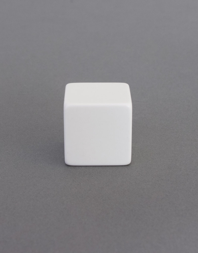Knights Templar Plain White Cube