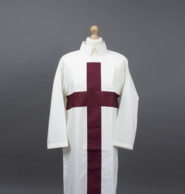 Knights Templar Tunic | Hand Embroidered and Velvet