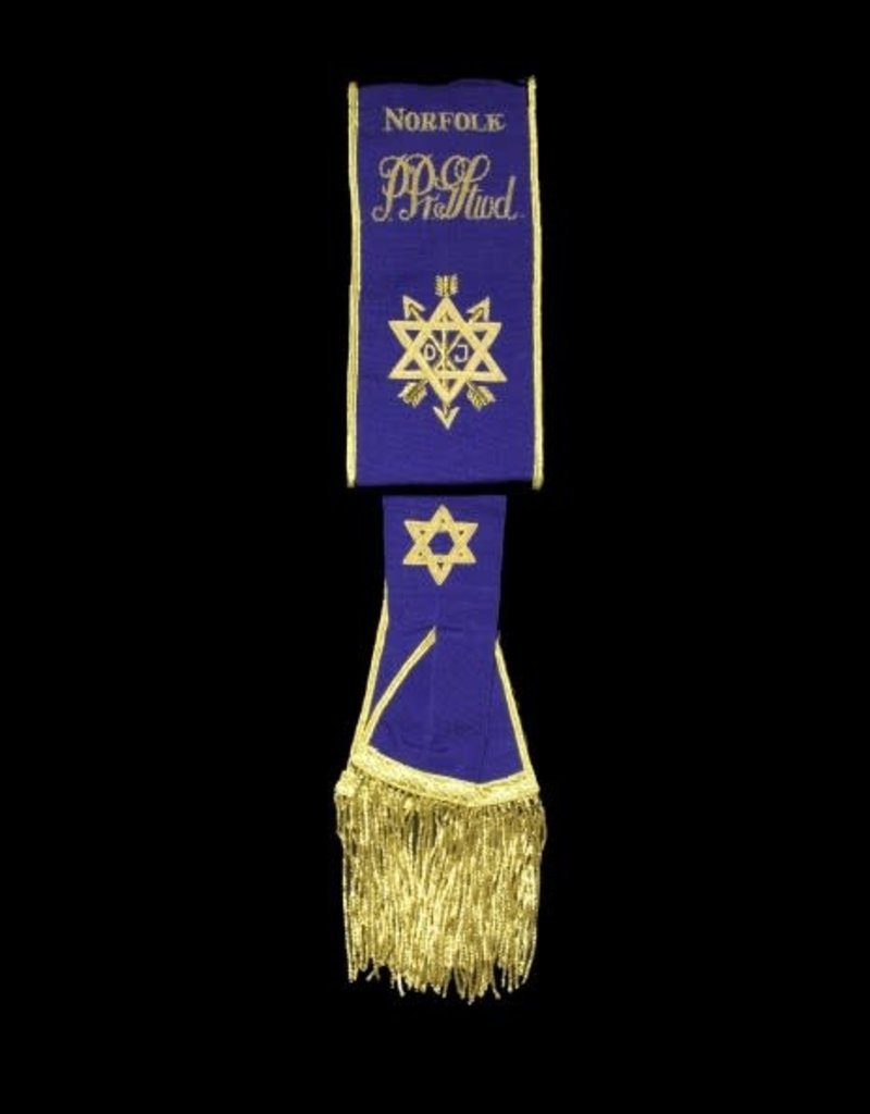 Order Of Secret Monitor Provincial Sash | Hand Embroidered