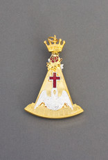 Rose Croix 18th Degree Collar Jewel | Gold & Hand Enameled